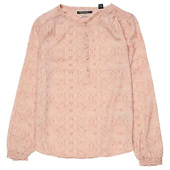 Maison Scotch Silky Blouse,Combo C