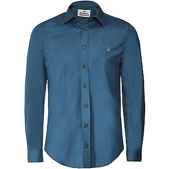 Vivienne Westwood Man Extra Slim Fit Classic Poplin Shirt