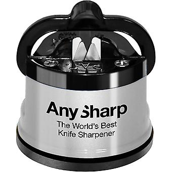 Anysharp Knife Sharpener Silver