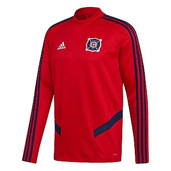 2019-2020 Chicago Fire Adidas Training Top (Red)
