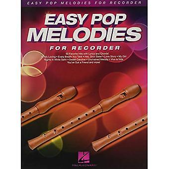 Easy Pop Melodies tallennin (Instrumentaali folio)