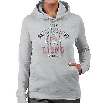East Mississippi Community College Lions Football Women's Hooded Sweatshirt