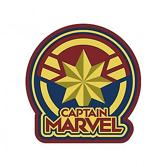 Magnet - Soft Touch PVC - Marvel - Captain Marvel Logo New 69064