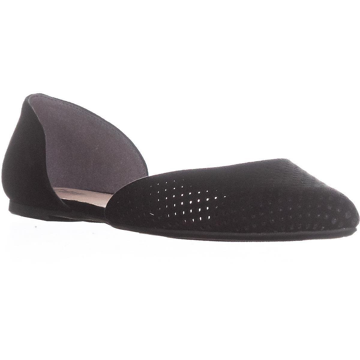Bar III spetsiga Womens Luna tyg tå Casual Slide sandaler - Gratis frakt