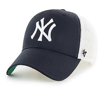 47 Brand Trucker Cap - Branson MLB New York Yankees schwarz