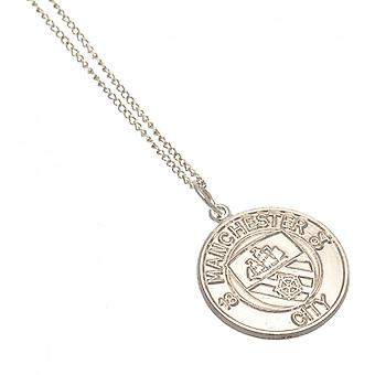 Manchester City FC Sterling Silver Pendant And Chain