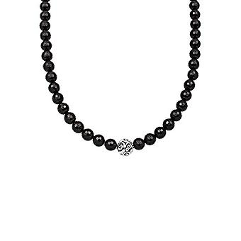 Elli Women's necklace in silver 925 with Black Onyx - 45 cm