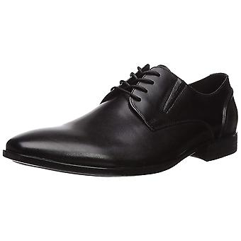 Kenneth Cole Reaction Mens Strive Oxford Leather Lace Up Casual Oxfords