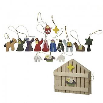 Heaven Sends Nativity Tree Decorations | Gifts From Handpicked