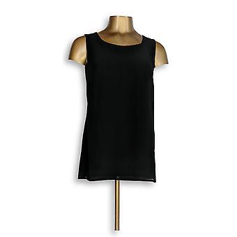 Joan Rivers Classics Collection mulheres ' s Top XXS Tank Black A276502