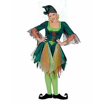 Elf Women's Costume Fairy Forest Fairy Costume Carnaval de fées femmes