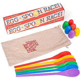 The Great Egg & Spoon Race