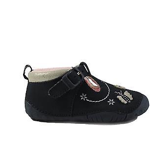 Startrite Mayflower Navy Girls Pre Walker T-Bar Chaussures