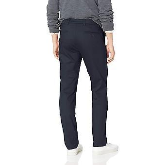 Dockers män ' s Slim konisk signatur khaki Lux bomull, marin, storlek 36W x 34l