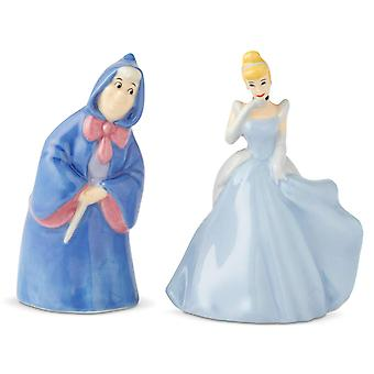 Salt & Paper Shaker - Disney - Cinderella and Fairy Godmother New 6003745