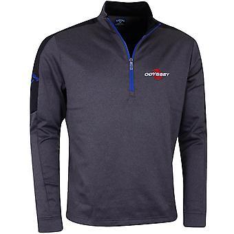 Callaway Golf mens LC logo stretch wafel ' Odyssey logo ' trui