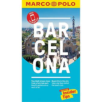 Barcelona Marco Polo Pocket Travel Guide  with pull out map