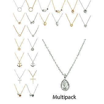 Kubický zirkónia Dainty multipack náhrdelník