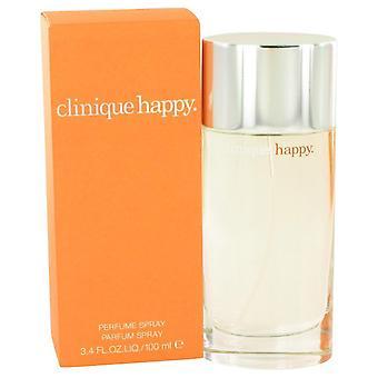 Happy eau de parfum spray mennessä clinique 413912 100 ml