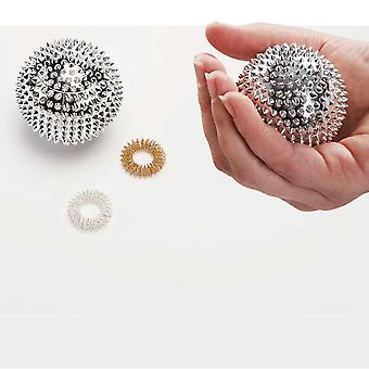 Acu Pressure and Reflexology Ball Set | Easylife Group | 2 Rings, 1 Ball