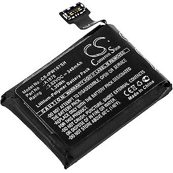 Batterij batterij batterij voor Apple Watch Series 3 GPS 42mm vervangt A1875 vervangende batterij accu