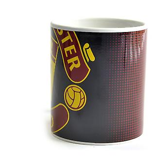 Manchester United FC Halftone 0.3kg Boxed Mug