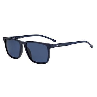 Hugo Boss 0921/S AVS/KU Striped Blue/Blue Sunglasses