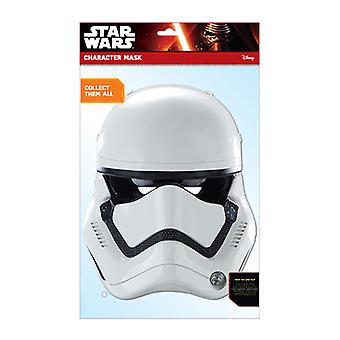 Første orden Stormtrooper Officielle Star Wars The Force Vækker Card Party Fancy Dress Mask