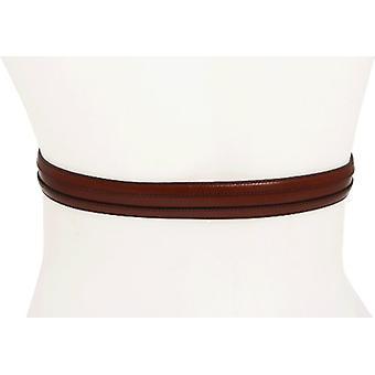 Johnston & Murphy Men's Double Calf Belt,Cognac,Size 32, Cognac, Size 32