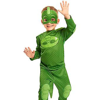 PJ Masks the Pyjama Heroes Gekko Gecko Costume