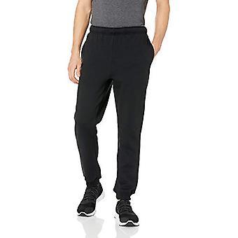 Starter Men's Jogger Sweatpants with Pockets,  Exclusive, Black with Em...