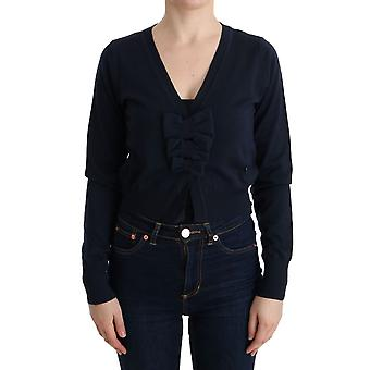 Marghi Lo' Blue Wool Blouse Sweater