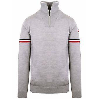 Fusalp Fusalp Grey Marius Half Zip Sweatshirt