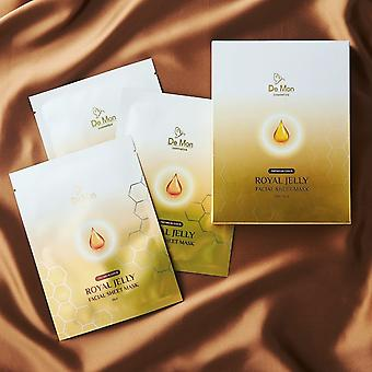 Gold Royal Jelly Facial Sheet Mask 5x25ml/0.8oz