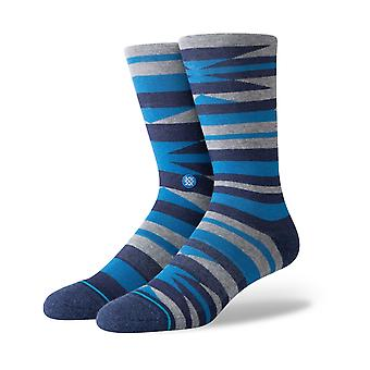 Stance Fawkes Crew Socks in Blue