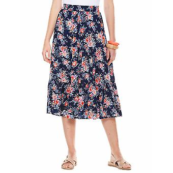 Ladies Womens Tiered Holiday Skirt