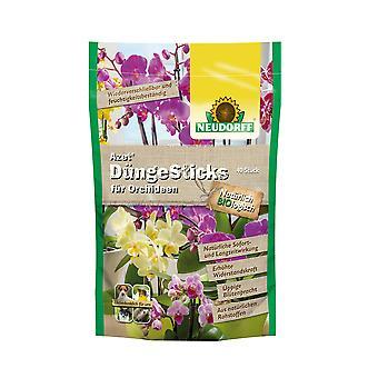 NEUDORFF Azet® FertilizerSticks for Orchids, 40 Sticks