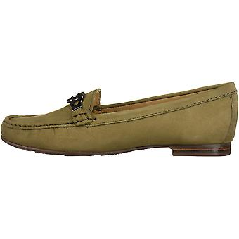 Driver Club USA Women-apos;s Cuir Made in Brazil Chain Buckle Loafer