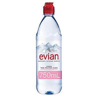 Evian Sportcap-( 750 Ml X 12 Flaskor )
