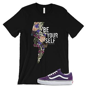 Be Yourself Art Graphic Chemise homme