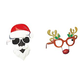 Christmas Shop Unisex Novelty Glasses