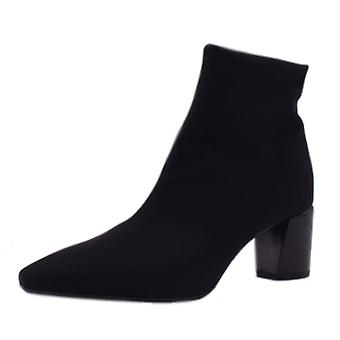 Peter Kaiser Mairin Fashion Ankle Boot In Black Stretch