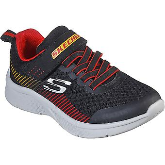 Skechers Boys Microspec Gorza Slip On Sports Trainers
