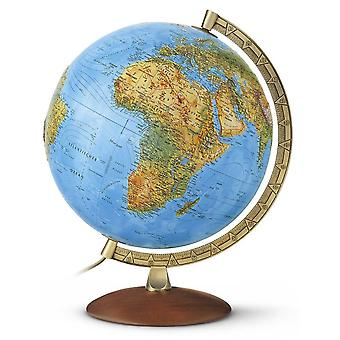 Nova Rico 30cm Primus Illuminated Relief World Globe