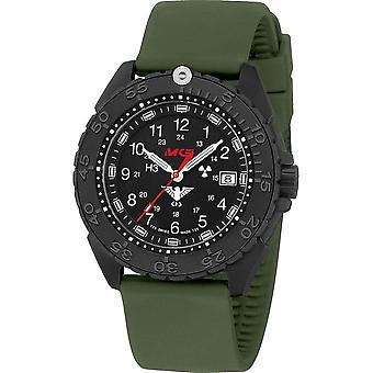 KHS Wristwatch الرجال المنفذ الأسود تيتان CR KHS. ENFBTCR. الشمس