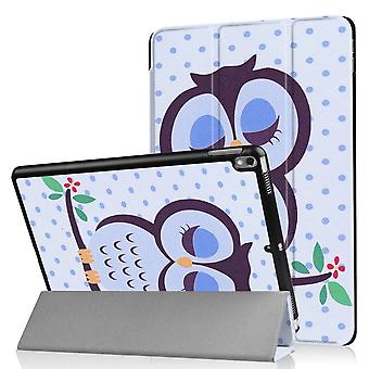 iPad Air 10,5 & iPad Pro 10,5 Slim Fit Tri-ori caz-Owl