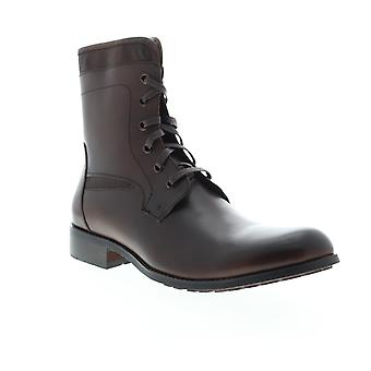 English Laundry Page  Mens Brown Leather Casual Dress Boots Shoes