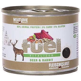 Meatlove Lata Fuel Ciervo y Conejo (Dogs , Dog Food , Wet Food)