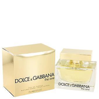 Den ene eau de parfum spray av dolce & gabbana 434471 75 ml
