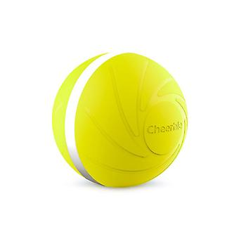 Wicked Ball - jouet interactif pour chien et chat - jaune